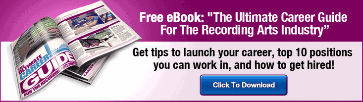 TOP 5 REASONS AUDIO ENGINEERING SCHOOLS CAN HELP LAUNCH YOUR CAREER
